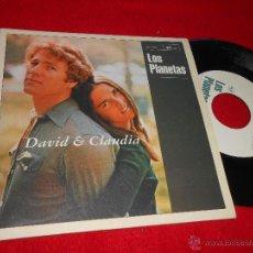 Discos de vinilo: LOS PLANETAS DAVID Y CLAUDIA/LA VERDADERA HISTORIA 7 SINGLE 1996 SUBTERFUGE ORIGINAL NUMERADO 0124. Lote 47218795