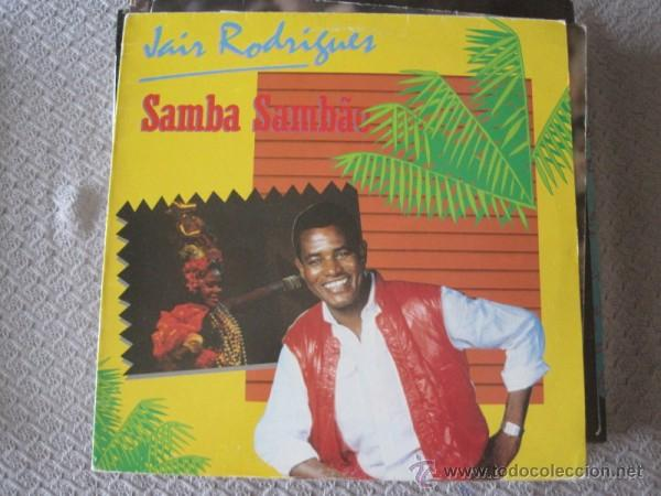 JAIR RODRIGUES - SAMBA SAMBAO - LP CGD 1984 (Música - Discos - LP Vinilo - Grupos y Solistas de latinoamérica)