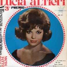 Discos de vinilo: LUCIA ALTIERI - FESTIVAL CANCION MEDITERRANEA, EP, IO CREDO IN TE ! + 3, AÑO 1964. Lote 47239672