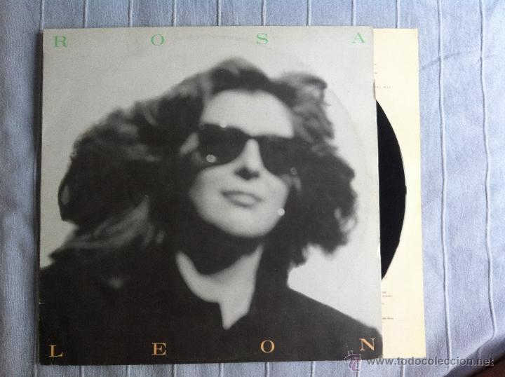 LP ROSA LEON-ROSA LEON (Música - Discos - LP Vinilo - Grupos Españoles de los 70 y 80)