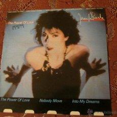 Discos de vinilo: MAXI SINGLE DE VINILO DE JENNIFER RUSH- TITULO THE POWER OF LOVE- ORIGINAL 84- 3 TEMAS. Lote 47243951