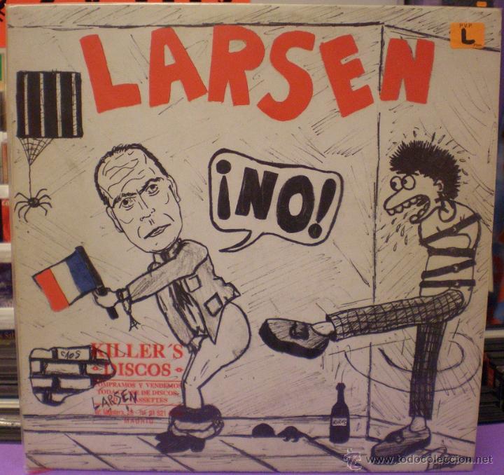 LARSEN - ¡NO! - MAXI SINGLE (Música - Discos de Vinilo - Maxi Singles - Punk - Hard Core)