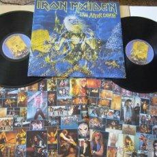 Discos de vinilo: IRON MAIDEN. 2LP. LIVE AFTER DEATH. EDICIÓN ESPAÑOLA. Lote 47249400