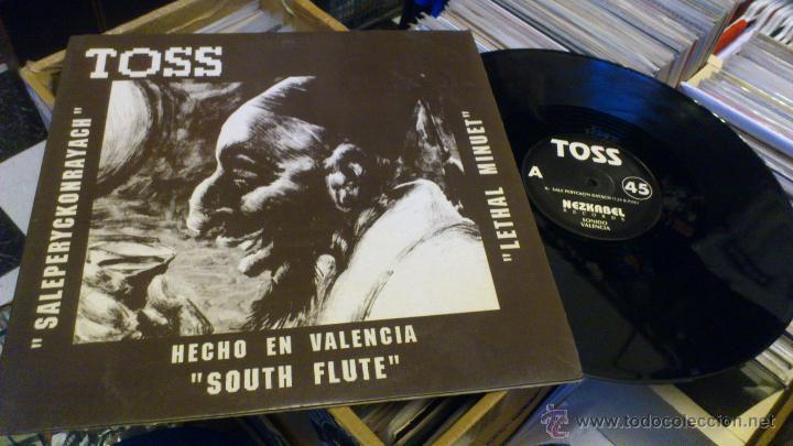 TOSS SALEPERYCKONRAYACH SOUTH FLUTE HECHO EN VALENCIA NEZKABEL RECORDS SEPT 1991 TECHNO MAKINA (Música - Discos de Vinilo - Maxi Singles - Techno, Trance y House)
