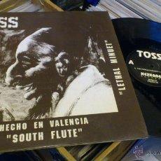 Discos de vinilo: TOSS SALEPERYCKONRAYACH SOUTH FLUTE HECHO EN VALENCIA NEZKABEL RECORDS SEPT 1991 TECHNO MAKINA . Lote 47249560