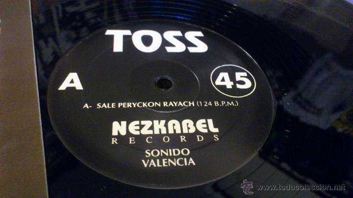 Discos de vinilo: Toss Saleperyckonrayach South flute Hecho en valencia Nezkabel records Sept 1991 Techno Makina - Foto 3 - 47249560
