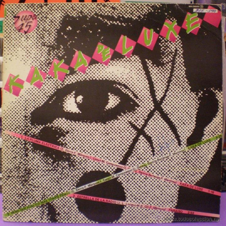 KAKA DE LUXE - PARAÍSO - MAXI SINGLE (Música - Discos de Vinilo - Maxi Singles - Punk - Hard Core)