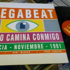 Discos de vinilo: MEGABEAT FUEGO CAMINA CONMIGO JULIO NEXUS GANI MANERO MAXI VINILO DISCO VALENCIA 1991 TECHNO DANCE . Lote 47249610