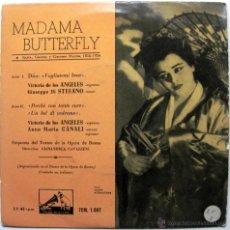 Discos de vinilo: VICTORIA DE LOS ANGELES (1A VERSION 1954) - MADAMA BUTTERFLY - EP LA VOZ DE SU AMO 1958 BPY. Lote 47254646
