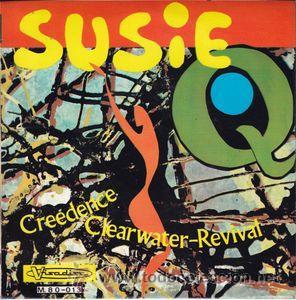 CREEDENCE CLEARWATER REVIVAL: SUZIE Q - 7'' 45 RPM (VISADISC M.80-013, SPAIN, 1968) (Música - Discos de Vinilo - EPs - Pop - Rock Extranjero de los 50 y 60)