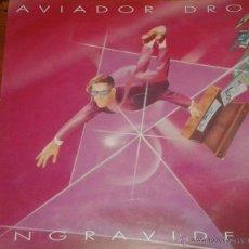 Discos de vinilo: AVIADOR DRO- LP INGRAVIDEZ DRO– 4D-357. Lote 47266707