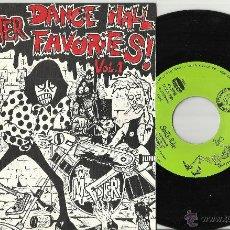 Discos de vinilo: THE MUNSTER DANCE HALL FAVORITES VOL.1 EP.SPACEMAN 3,ENEMIGOS,SEX MUSEUM,SURFIN' LUNGS.1987.VG++. Lote 47273807