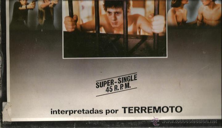 Discos de vinilo: MAXI BANDA SONORA EL PICO 2 ( CANCIONES INTERPRETADAS POR TERREMOTO, 5 TRACKS ) - Foto 2 - 47273810