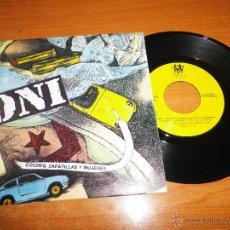 Discos de vinil: DNI COCHES ZAPATILLAS Y MUJERES SINGLE VINILO 1990 HIP HOP ESPAÑOL MISMO TEMA EN LAS DOS CARAS. Lote 47277363