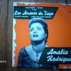 Discos de vinilo: AMALIA RODRIGUES - BARCO NEGRO + 3 - EDICIÓN FRANCESA . Lote 47283784