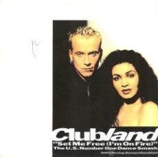 Dischi in vinile: VENDO SINGLE DE CLUBLAND (I´M HUNDER), AÑO 1992.. Lote 47287227