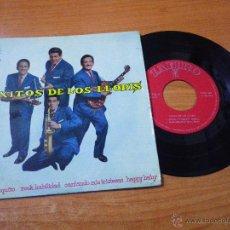 Discos de vinilo: LOS LLOPIS QUITO A POQUITO / CANTANDO MIS TRISTEZAS EP VINILO 1960 SELLO ZAFIRO 4 TEMAS. Lote 149334102