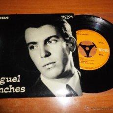 Discos de vinilo: MIGUEL SANCHES NAUFRAGIO / O CAMA DE ESTEVA BRAVA EP VINILO CON TRIANGULO HECHO EN PORTUGAL 4 TEMAS. Lote 47290747