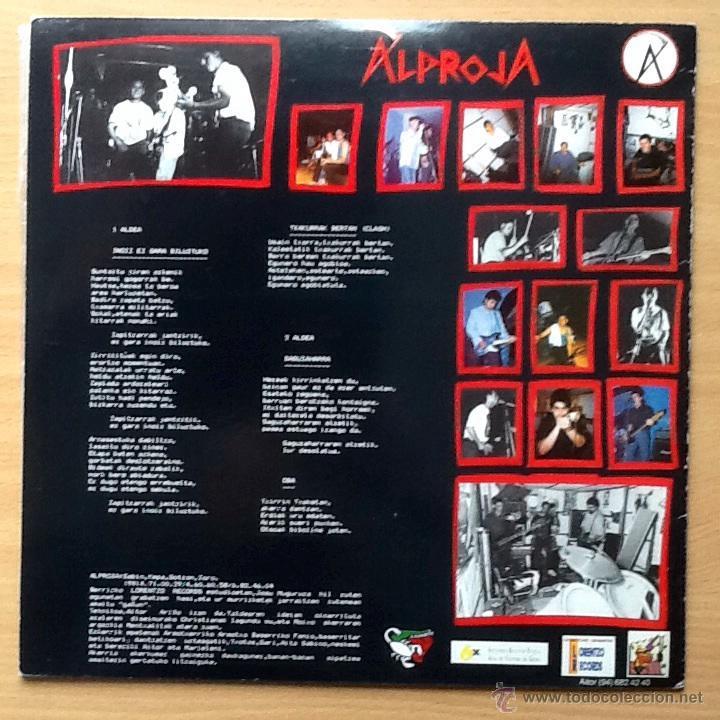 Discos de vinilo: ALPROJA - INOIZ EZ GARA BILUZTUKO - Foto 3 - 47272410