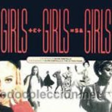 Discos de vinilo: GIRLS GIRLS GIRLS. THE SOUNDS OF ELVIS COSTELLO & THE ATTRACTIONS - 2 LP (DEMON, 1989). Lote 47310707
