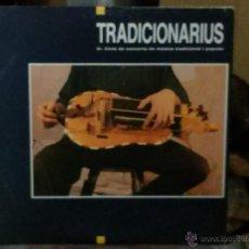 Discos de vinilo: TRADICIONARIUS - 3ER CICLE DE CONCERTS DE MÚSICA TRADICIONAL I POPULAR - EDICIO TRAM 1990. Lote 47313680