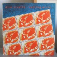 Discos de vinilo: DIRE STRAITS CALLING ELVIS 12 MAXI SPAIN 1991. Lote 47301031