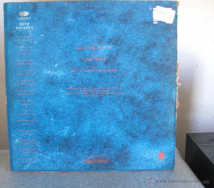 Discos de vinilo: DIRE STRAITS CALLING ELVIS 12 MAXI SPAIN 1991 - Foto 5 - 47301031