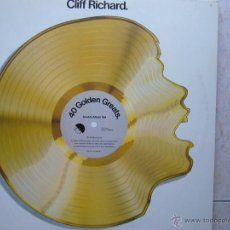 Discos de vinilo: CLIFF RICHARD - 40 GOLDEN GREATS .DOBLE LP-.. Lote 47320887