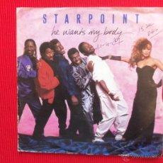 Discos de vinilo: STARPOINT - HE WANTS MY BODY . Lote 47321836
