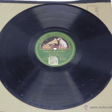 Discos de vinilo: DISCO DE PIZARRA NIÑO DEL MUSEO, FANDANGOS (MANUEL DE MERA), CON ACOMPAÑAMIENTO DE GUITARRA, AE 3507. Lote 47321893