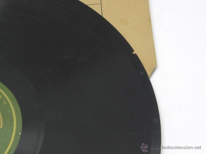 Discos de vinilo: DISCO DE PIZARRA NIÑO DEL MUSEO, FANDANGOS (MANUEL DE MERA), CON ACOMPAÑAMIENTO DE GUITARRA, AE 3507 - Foto 5 - 47321893