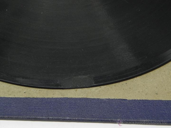Discos de vinilo: DISCO DE PIZARRA JUANITO VAREA, ACOMPAÑADO A LA GUITARRA POR EL NIÑO RICARDO, YA EL SERENO SE DORMIA - Foto 5 - 47322132