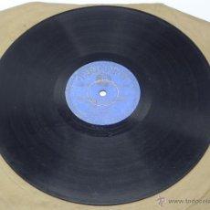 Discos de vinilo: DISCO DE PIZARRA DE JOSÉ CEPERO Y MANOLO DE BADAJOZ (GUITARRA) - ED. PARLOPHON 25362 76252 / 76253, . Lote 47322626