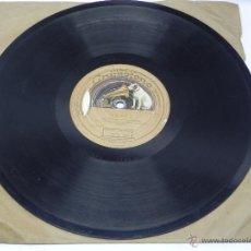 Discos de vinilo: DISCO DE PIZARRA LA NIÑA DE LOS PEINES, SAETA Y BULERÍA Nº 1. DISCO GRAMÓFONO, LA VOZ DE SU AMO. AG.. Lote 47322687