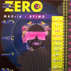 Discos de vinilo: FLASH ZERO - MADRID / RYTMO . MAXI SINGLE . 1990 TOMA TOMA RECORDS – TT - 010. Lote 146850364