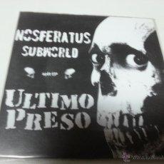 Discos de vinilo: NOSFERATUS SUBWORLD / ULTIMO PRESO - NOSFERATUS SUBWORLD / ULTIMO PRESO -SPLIT EP-N.. Lote 47323391