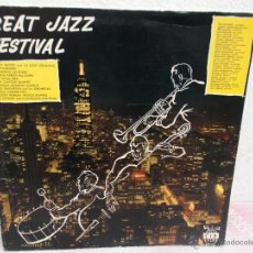 Discos de vinilo: GREAT JAZZ FESTIVAL DISCOS CID SIDNEY BECHET AND HIS NEW ORLEANS. Lote 47326422