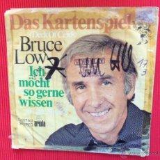Discos de vinilo: BRUCE LOW - DAS KARTENSPIEL . Lote 47326936