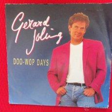 Discos de vinilo: GERARD JOLING - DOO WOP DAYS . Lote 47327706