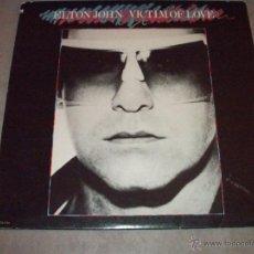Discos de vinilo: ELTON JOHN - VICTIM OF LOVE - USA 1979 - INCLUYE ENCARTES - LP. Lote 47330567