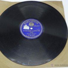 Discos de vinilo: DISCO DE PIZARRA DE MANUEL CENTENO, ES TAN GRANDE LA ESCULTURA / POR ESA EXPRESION LLOROSA, SAETA, E. Lote 47335161