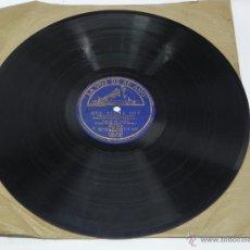 Discos de vinilo: DISCO DE PIZARRA DE GRACIA DE TRIANA, GUITARRA MANOLO DE BADAJOZ, QUÉ BUENA SOY (PELÍCULA ESCUADRILL. Lote 47335275