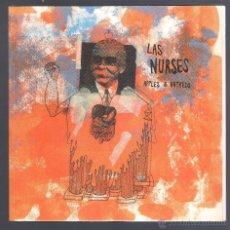 Discos de vinilo: LAS NURSES - APPLES & HATREDS. Lote 47336718