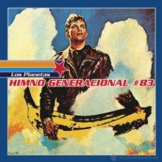 Discos de vinilo: SINGLE EP LOS PLANETAS HIMNO GENERACIONAL #83 VINILO REEDICION 2015. Lote 181372038