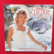 Discos de vinilo: ANNY SCHILDER - GOODBYE FAREWELL. Lote 47338383