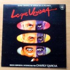 Discos de vinilo: CHARLY GARCIA - LO QUE VENDRA. Lote 47343781