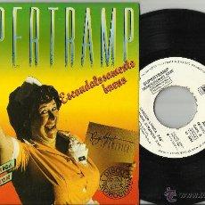 Discos de vinilo: SUPERTRAMP EP PROMOCIONAL ESCANDALOSAMENTE BUENO.CANCION LOGICA + 3.1979 ESPAÑA.. Lote 114671494