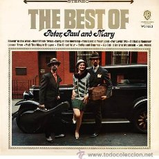 Discos de vinilo: PETER, PAUL & MARY - THE BEST OF - LP NUEVO A ESTRENAR - RARO - WARNER BROS, 1973 - EDICIÓN ALEMANIA. Lote 47352086