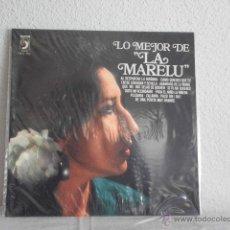 Discos de vinilo: LP LO MEJOR DE LA MARELU. Lote 47352557