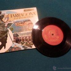 Discos de vinilo: TARRAGONA I LA SEVA PROVINCIA - SINGLE - CARPETA ABIERTA CON LIBRILLO 20 PAG. - EDIPHONE 1969. Lote 47354314